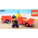 LEGO Fire Truck and Trailer Set 640-2