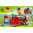 LEGO Fire Truck Set 10592 Instructions