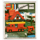 LEGO Fire Truck Set 640-1 Instructions