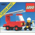 LEGO Fire Truck Set 6621