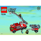 LEGO Fire Truck Set 7239 Instructions
