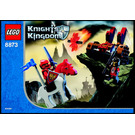 LEGO Fireball Catapult Set 8873 Instructions