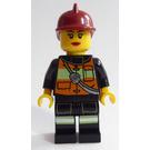 LEGO Firefighter, female Minifigure