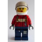 LEGO Firefighter Female Pilot Minifigure