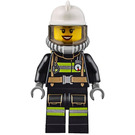 LEGO Firefighter Female with Yellow Airtanks Minifigure