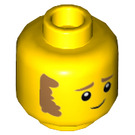 LEGO Firefighter Plain Head (Recessed Solid Stud) (3626 / 66860)