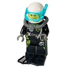 LEGO Firefighter Scuba Diver Minifigure