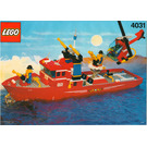 LEGO Firefighter Set 4031 Instructions