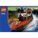 LEGO Firefighter Set 7043