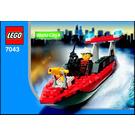 LEGO Firefighter Set 7043 Instructions