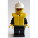 LEGO Firefighter with Lifejacket and Sunglasses Minifigure
