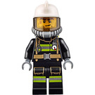 LEGO Firefighter with Yellow Airtanks Minifigure