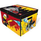 LEGO Firefighter ZipBin Large Storage Toy Box (2856200)