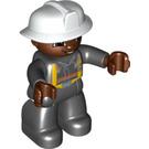 LEGO Fireman Frank Duplo Figure