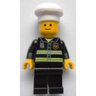 LEGO Fireman with Chef's Hat Minifigure