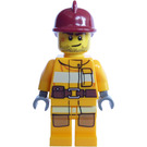 LEGO Fireman with Crooked Smile Minifigure