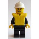 LEGO Fireman with Life Jacket Minifigure