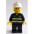 LEGO Fireman with White Helmet Minifigure