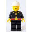 LEGO Fireman with White Helmet Town Minifigure