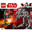 LEGO First Order AT-ST Set 75201 Instructions