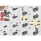 LEGO First Order Heavy Assault Walker Set 30497 Instructions