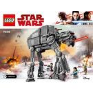 LEGO First Order Heavy Assault Walker Set 75189 Instructions