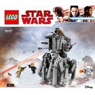 LEGO First Order Heavy Scout Walker Set 75177 Instructions