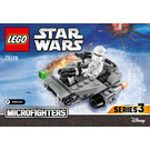 LEGO First Order Snowspeeder Microfighter Set 75126 Instructions