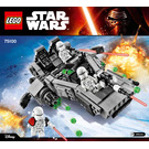 LEGO First Order Snowspeeder Set 75100 Instructions