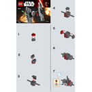 LEGO First Order Special Forces TIE Fighter Set 30276 Instructions