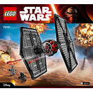 LEGO First Order Special Forces TIE Fighter Set 75101 Instructions