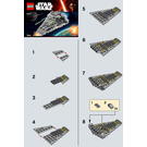 LEGO First Order Star Destroyer Set 30277 Instructions