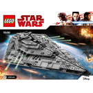 LEGO First Order Star Destroyer Set 75190 Instructions