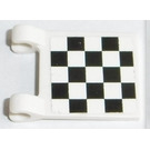 LEGO Flag 2 x 2 with Chequered Flag Sticker from Set 8864 (2335)