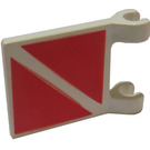 LEGO Flag 2 x 2 with Diver Stripe (2335)