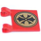 LEGO Flag 2 x 2 with Orient Emblem (2335)