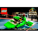 LEGO Flash Speeder Set 7124 Instructions