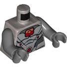 LEGO Cyborg Minifig Torso (973 / 76382)
