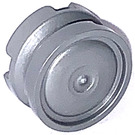 LEGO Flat Silver Wheel 11 x 6.2mm Hubcap (93594)