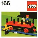 LEGO Flat Wagon Set 166-1 Instructions