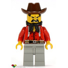 LEGO Flatfoot Thompson bandit Minifigure