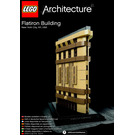 LEGO Flatiron Building, New York Set 21023 Instructions