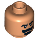 LEGO Flesh Plain Head with Decoration (Safety Stud) (86744)