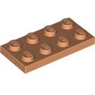 LEGO Flesh Plate 2 x 4 (3020)