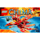 LEGO Flinx's Ultimate Phoenix Set 70221 Instructions