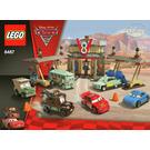LEGO Flo's V8 Cafe Set 8487 Instructions