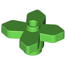 LEGO Flower 2 x 2 with Angular Leaves (4727)