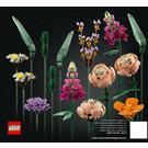 LEGO Flower Bouquet Set 10280 Instructions