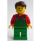 LEGO Flower Cart Man Minifigure