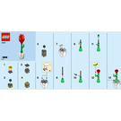 LEGO Flower Display Set 40187 Instructions